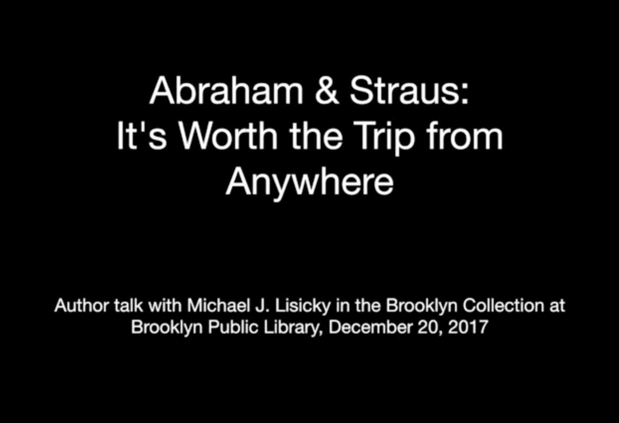 Abraham & Straus: It's Worth the Trip from Anywhe...
